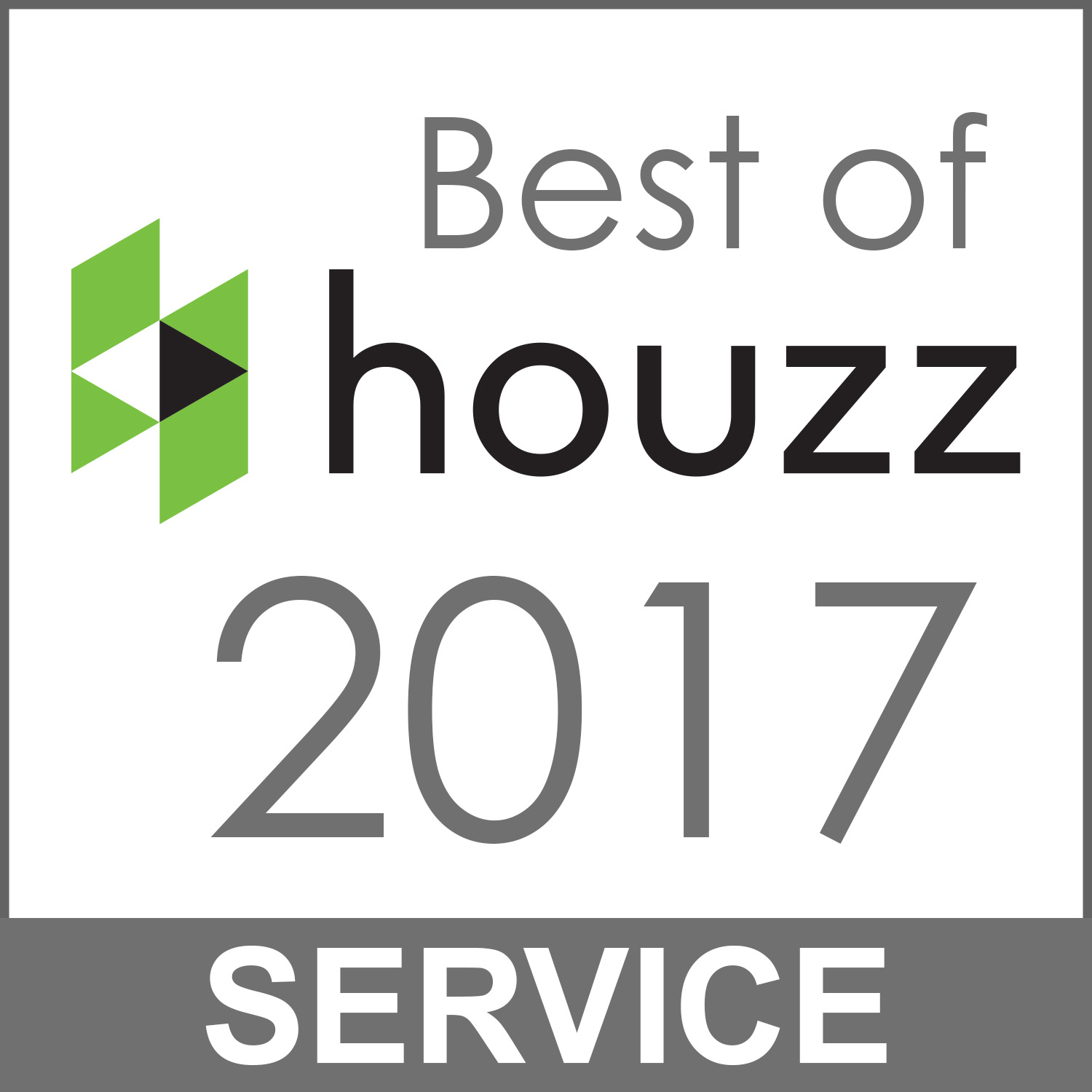 Best of houzz 2017 for service